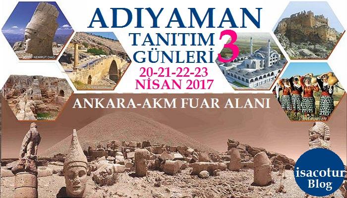 Ankara'da Adıyaman Tanıtım Günleri