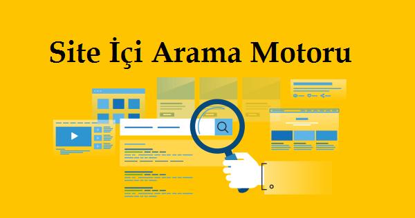 Site İçi Arama Motoru ile Google 1. Sayfada Çıkmak