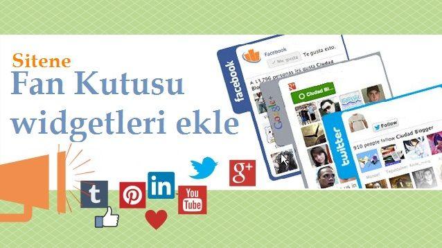 Sosyal Medya Widget Kodları