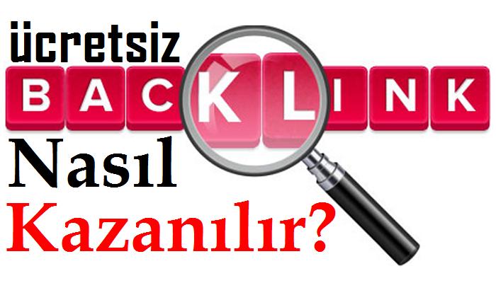 Ücretsiz BackLink Kazanmak