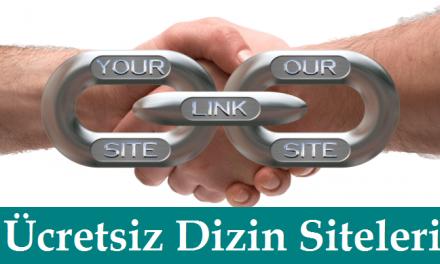 Ücretsiz Dizin Siteleri Hangileri? Kaliteli Türkçe Dizin Siteleri?
