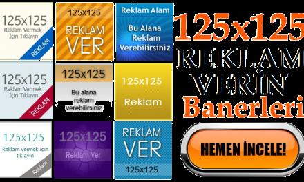 125×125 Reklam Ver Banneri