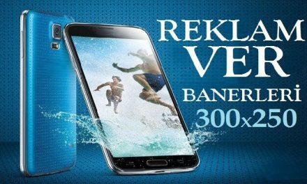 300×250 Reklam Alanı Kodu Ekle