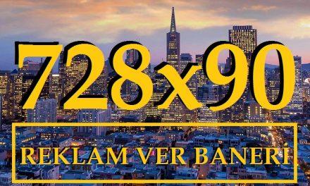 728X90 Banner Reklam Alanı Kodu