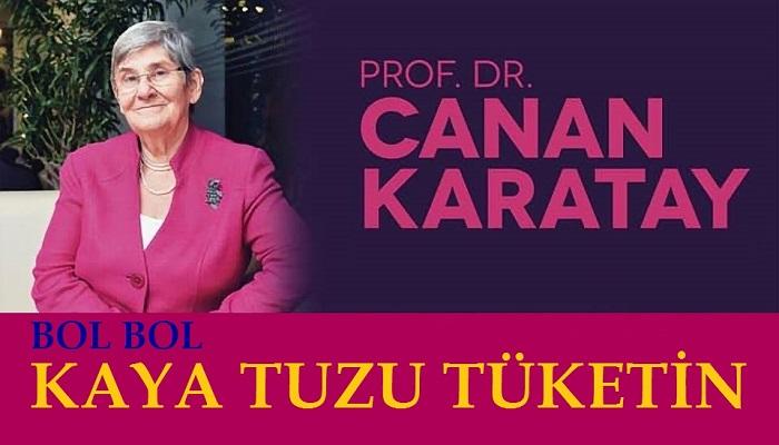 Prof. Dr. Canan Karatay Kaya tuzu