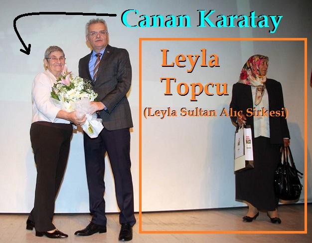 Canan Karatay ve Leyla Sultan Alıç Sirkesi