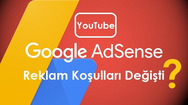 Youtube Reklam Geliri Elde Etme Koşulları Değişti