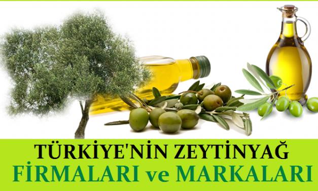 Türkiyenin ZeytinYağı Firmaları ve Markaları