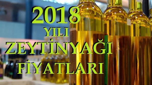2018 yılında Zeytinyağı ve Zeytin Fiyatları