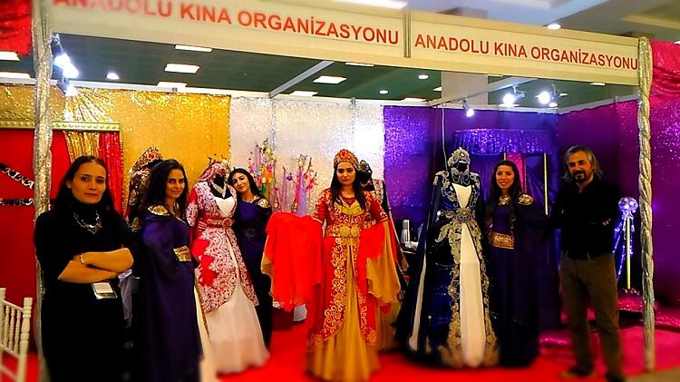 Anadolu Kına Organizasyon Ankara Evlilik Fuarında