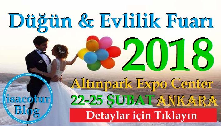 Düğün ve Evlilik Fuarı Ankara 2018