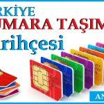 Türkiye Gsm Numara Taşıma Tarihçesi