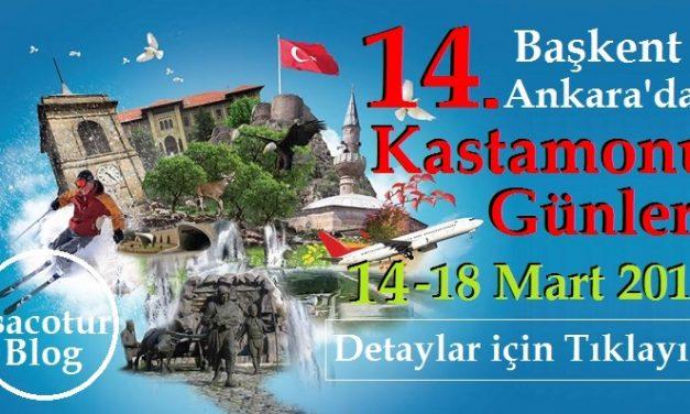 Başkentte Kastamonu Günleri 2018 I Tüm Detaylar