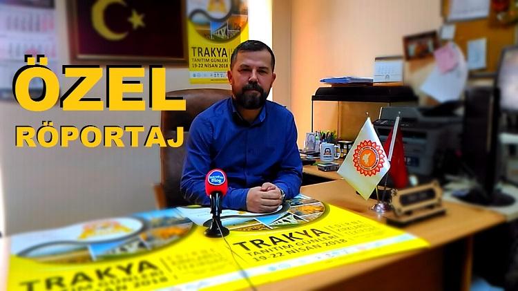 Trakyalılar Vakfı Başkan Yardımcısı Naci Erol