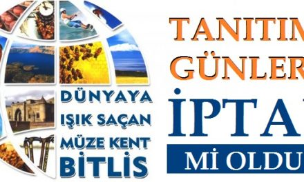 Bitlis Tanıtım Günleri Ankara 2018