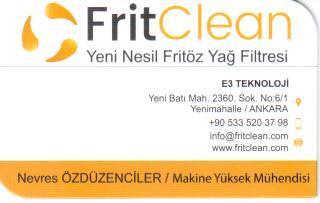 Frit Clean İletişim