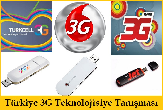Türkiye 3G Teknolojisiyle Tanışması 2009