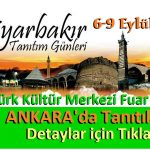 Diyarbakır Tanıtım Günleri 2018 Ankara I Tüm Detaylar