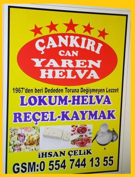 Çankırı Can Yaren Helva