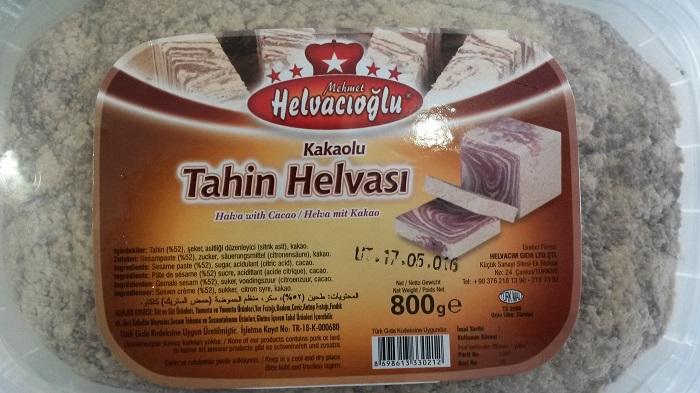 Çankırı Helvacıoğlu - kakaolu tahin helvası