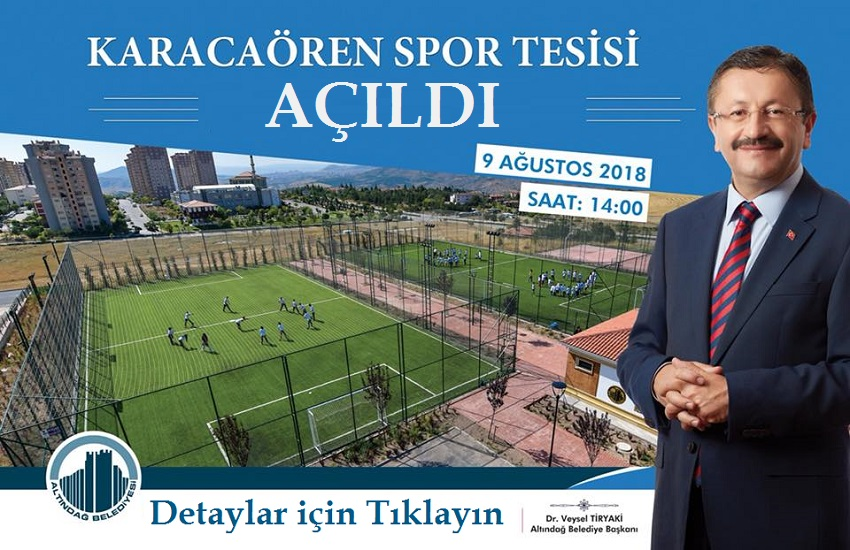 Altındağ Karacaören Toki Spor Tesisi