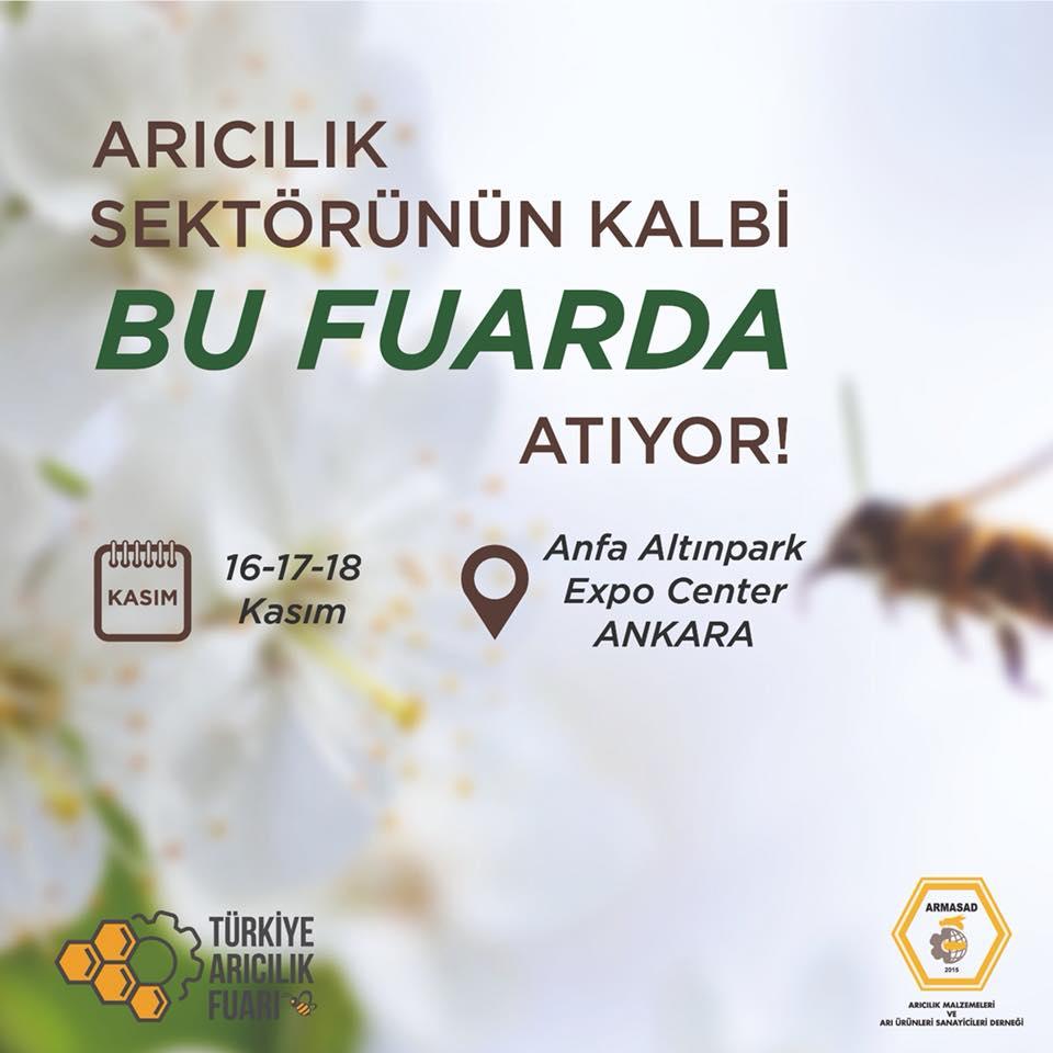Armasad Arıcılık Fuarı 2018 Ankara