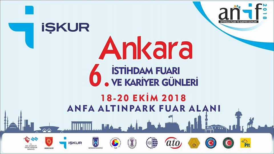 Ankara 6. İstihdam Fuarı ve Kariyer Günleri