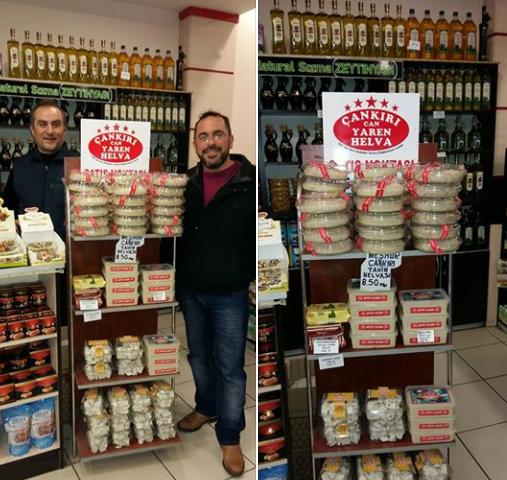 Çankırı Can Yaren Helva ılgaz doğruyol tesislerinde satılıyor
