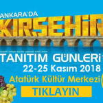 Kırşehir Tanıtım Günleri Ankara 2018