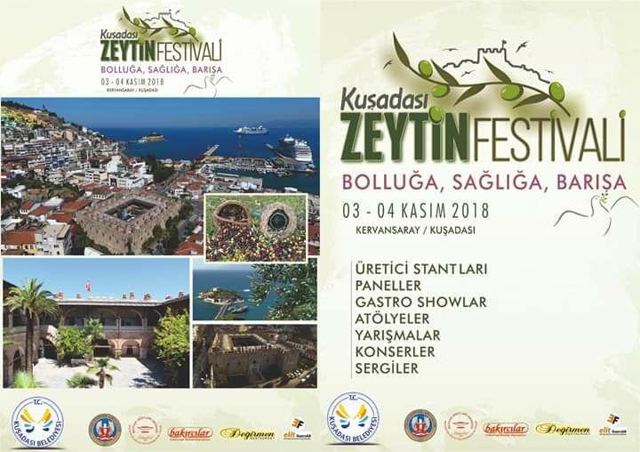 Kuşadası Zeytin Festivali 2018