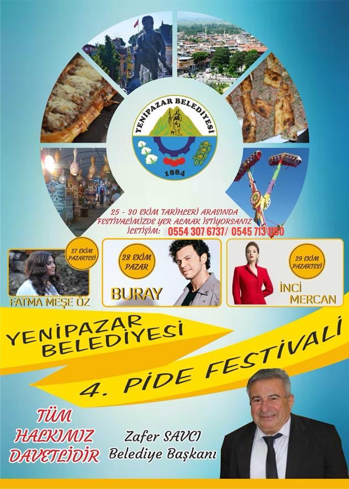 Yenipazar Geleneksel 4. Pide Festivali