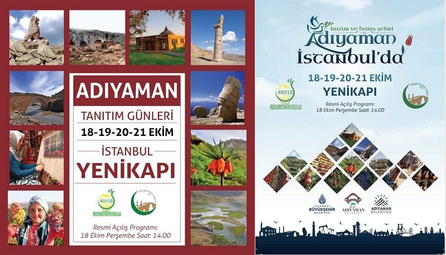 Adıyaman Tanıtım Günleri İstanbul Yenikapı
