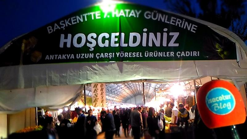Başkentte Hatay Günleri Yöresel Ürünler Çadırı 2018