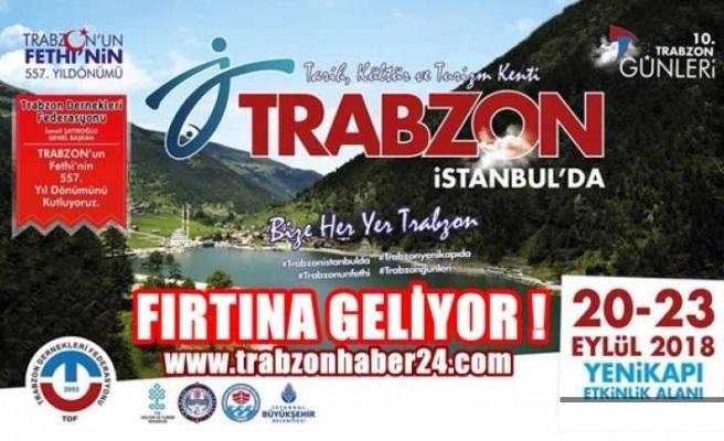 10. Trabzon Günleri 2018 İstanbul Yenikapı