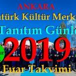 Ankara Akm Tanıtım Günleri 2019 Fuar Takvimi