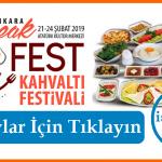 "Ankara Kahvaltı Festivali ""Break Fest"""