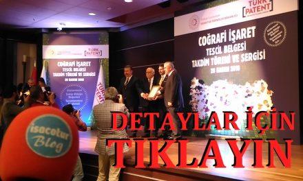 Türk Patent Kurumu 23 Ürünü Coğrafi İşaretle Tescilledi