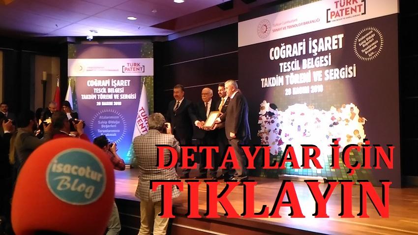 Türk Patent 23 Ürüne Coğrafi İşaretle Tescilledi