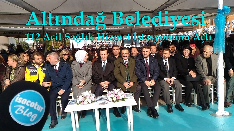 Altındağ Belediyesi 112 Acil Sağlık Hizmet İstasyonunu Açtı