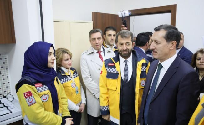 Altındağ Belediyesi 112 Acil Sağlık Hizmet İstasyonunu Açtı, Emrullah işler
