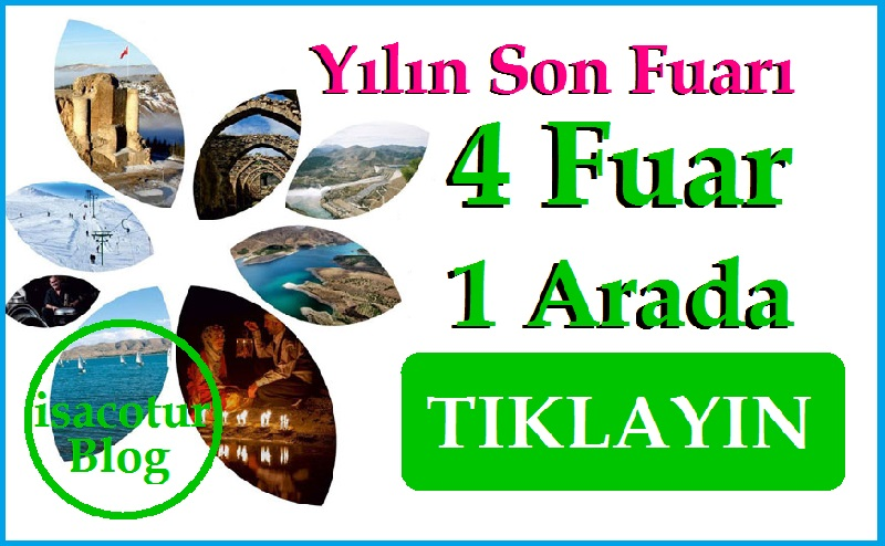 "Ankara'da Yılın Son Fuarı ""4 Fuar 1 Arada"""