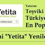 """Yatırım Teşviki Alan Türkiye'nin En Popüler Dizini """"Yetita"""" Yenilendi"""
