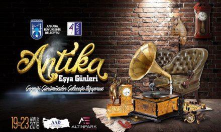 """Antika Eşya Günleri"" Ankara Altınpark Expo Center"