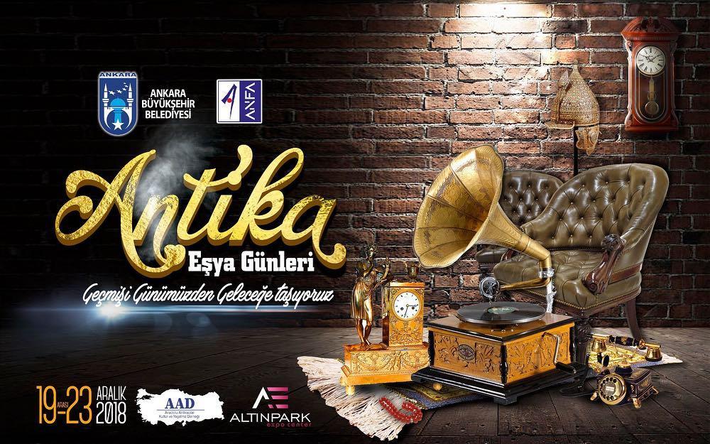 "Ankara ""Antika Eşya Günleri"" Altınpark Expo Center"