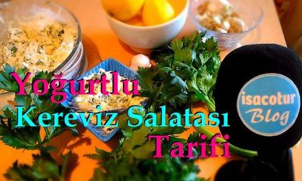 Yoğurtlu Kereviz Salatası Tarifi & Kerevizin Faydaları