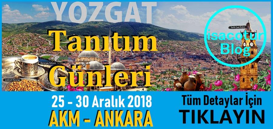 Yozgat Tanıtım Günleri Ankara 2018