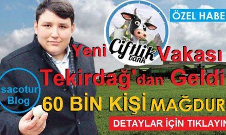 Yeni Çiftlik Bank Vakası Tekirdağ'da Giyim Mağazası 60000 Kişiyi mi Dolandırdı
