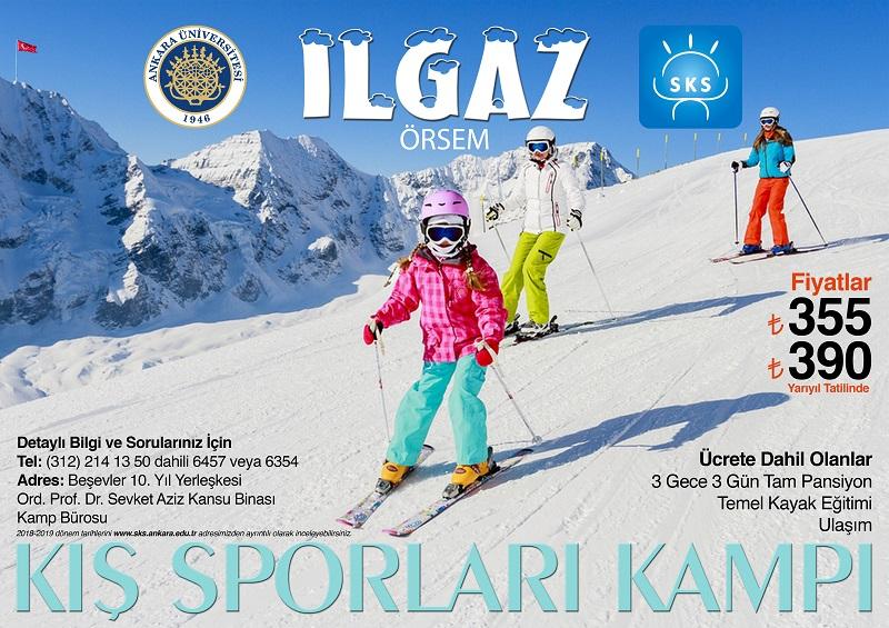 Ankara Üniversitesi Ilgaz ÖRSEM Kış Sporları Kampı