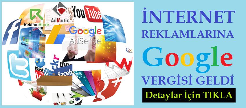 Google, Youtube, Facebook, İnstagram'a Reklam Veren Vergi Verecek!