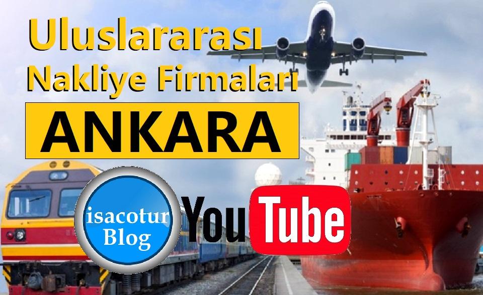 Ankara'da Bulunan Uluslararası Nakliye Firmaları